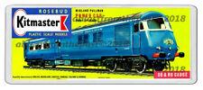 KITMASTER MIDLAND PULLMAN POWER CAR MODEL BOX ARTWORK NEW WIDE FRIDGE  MAGNET