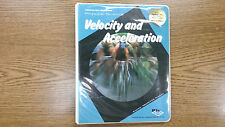 Rare Antique Prentice Hall Velocity and Acceleration Software for Apple II