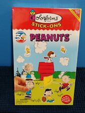 Peanuts Charlie Brown Snoopy Colorforms No.7021 Toy Play Set Sealed Vintage
