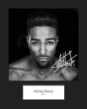 ASHLEY BANJO #2 10x8 SIGNED Mounted Photo Print - FREE DELIVERY
