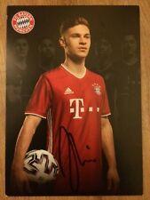 Handsignierte AK Autogrammkarte JOSHUA KIMMICH FC Bayern München 20/21 2020/2021