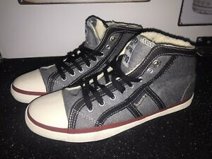 Superdry Ladies Ankle High Trainer  Size 5