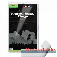 BCW Resealable Bag For Graded Comics - 9 X 14