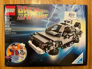 LEGO CUUSOO 21103 Back to the Future Time Machine DeLorean - Employee - see desc