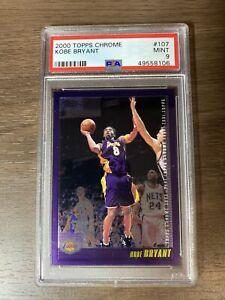 2000 Kobe Bryant Topps Chrome #107 PSA 9