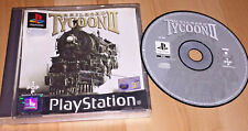 RAILROAD TYCOON 2 PS1 GAME *VERY GOOD DISC* UK PAL SIMULATION