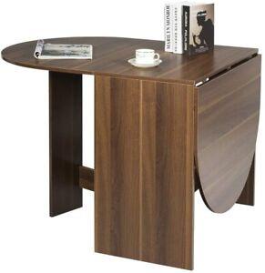 Klapptisch Ausziehbarer Esszimmertisch Ovaler Esstisch Kaffeetisch Küchentisch