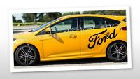 ford side stickers decals st fiest focus ford car van stickers x2 100cm A370