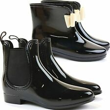 Women's Synthetic Pull on Wellington Boots