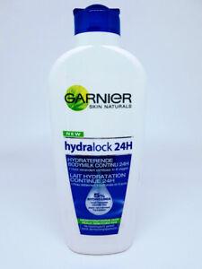 GARNIER Hydralock 24H Lait Hydratation Peaux Déshydratées 250ml * 3600540812148