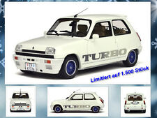 Renault 5 Gordini limitado a 1500 trozo Otto Mobile 1:18 OVP