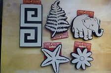 CHOOSE ANY 3 X RUBBER STAMPEDE STAMPS - STAMP ANY SURFACE ARTS CRAFTS BRAND NEW