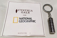 Cynthia Gale Metal Alloy Traveler's Key Chain for National Geographic