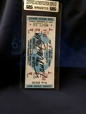PAUL WARFIELD REPLICA CHAMPIONSHIP AUTOGRAPHED GAME TICKET WITH COA SEALED BY CA