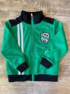 Puma Toddler Boys Zip Up Jacket Size 2T