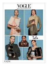 Vogue SEWING PATTERN V9234 Misses Wraps,Scarves & Gloves