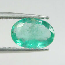 0.83 Ct - Natural Emerald - Zambia - Oval cut - Unheated