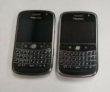 Lot of 2 - BlackBerry Bold 9000 - Black (Unlocked) Smartphone - For parts