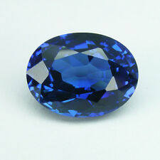 5.55 cts. ROYAL BLUE SAPPHIRE OVAL VVS LOOSE GEMSTONE JEWELRY ovale saphir bleu