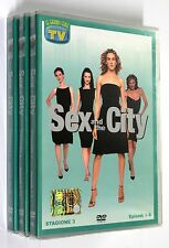 SEX AND THE CITY TERZA STAGIONE Episodi 1-18 SERIE 3 COMPLETA 3 DVD SIGILLATI