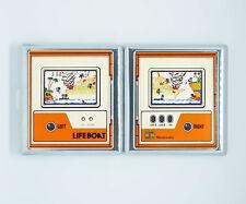 etui a cigarette game and watch LIFEBOAT jeux retro boite porte carte de poche