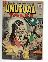 Unusual Tales 7 GVG (3.0) 5/57 Charlton! Steve Ditko cover and artwork!