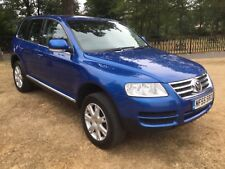 VOLKSWAGEN TOUREG TOUREG SE SPORT 2005/55 ELECTRIC BLUE METALLIC FULL MOT !!!