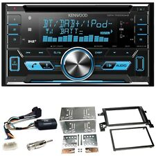 KENWOOD dpx-7000dab Bluetooth USB CD Kit Installazione per SUZUKI GRAND VITARA JT