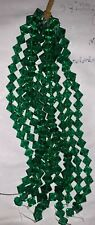 10mm Emerald Green Colored Bicone Crystal