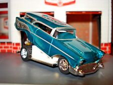 1957 57 CHEVROLET NOMAD LIMITED EDITION FUNNY CAR 1/64 HW MONSTER BLOWN MOTOR