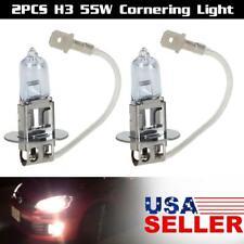 2X H3 12V 55W Halogen Bulb Fog Driving Light Lamp White 4500k 64156