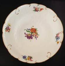 "Furstenberg Bunte Blume pattern and embossed 12"" Platter."