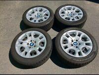 Winterreifen Winterräder Winter Reifen Radkappen BMW X1 E84 225/50 R17 94H 4x8mm