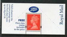 GB 1994 Machin 1st class stamp Boots label unmounted mint MNH Free postage!!