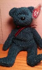 "Ty Beanie Baby Original ""Holiday Teddy"" 2001 Retired"