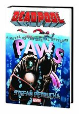 DEADPOOL: PAWS PROSE NOVEL HARDCOVER Stefan Petrucha Marvel Comics HC