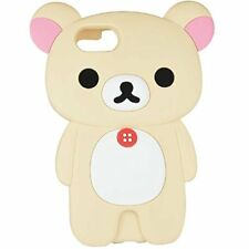 San-X Rilakkuma iPhone 7 (4.7 inch) Silicone Case Korilakkuma GRC-160B Japan*