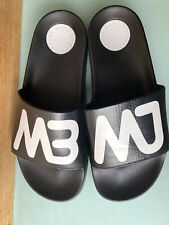 Marc By Marc JacobsWomens Black Tech Slide Sandals Sz 37