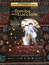 La Tomba Delle Lucciole locandina poster Isao Takahata Animazione Studio Ghibli