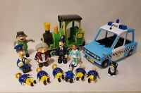 Preschool Toys Joblot - Postman Pat, Fireman Sam, Bob The Builder #282