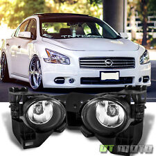 For 2009-2015 Maxima Replacement Bumper Fog Lights Lamps 09 10 11 12 13 14 15
