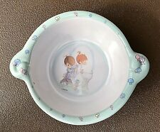 Precious Moments 7� Melamine Bowl ~ Boy & Girl at Water Fountain