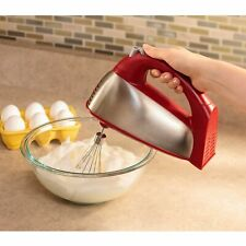 Red Hamilton Beach 6 Speed Classic Stand Mixer New Kitchen Cake Baking Tools
