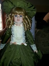 Setmour Mann Vintage Green Taffeta Doll