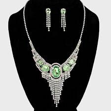 Mixed Metals Rhinestone Costume Jewellery Sets