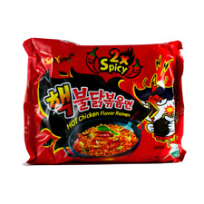Instant Noodles SAMYANG RAMEN 2x Hot & Spicy Korean Chicken Halal Food