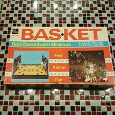 VTG 70's 1970's ~ BAS-KET ~ Real Basketball Miniature CADACO Board Game No.165