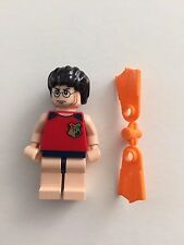 LEGO Harry Potter Tournament Swimsuit and NEW FLIPPERS Collectible Minifig 4762