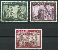 Andorra-franz 211 - 213 postfrisch, Fresken