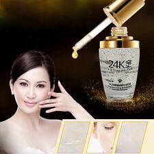 24K Gold Skin Care Whitening Essence Anti Aging Wrinkle Face Moisturizing Cream